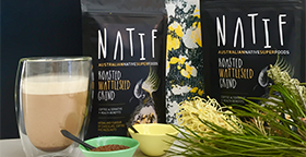 Natif Roasted Wattleseed Grind